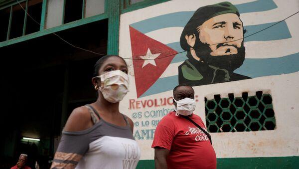 El coronavirus en Cuba - Sputnik Mundo