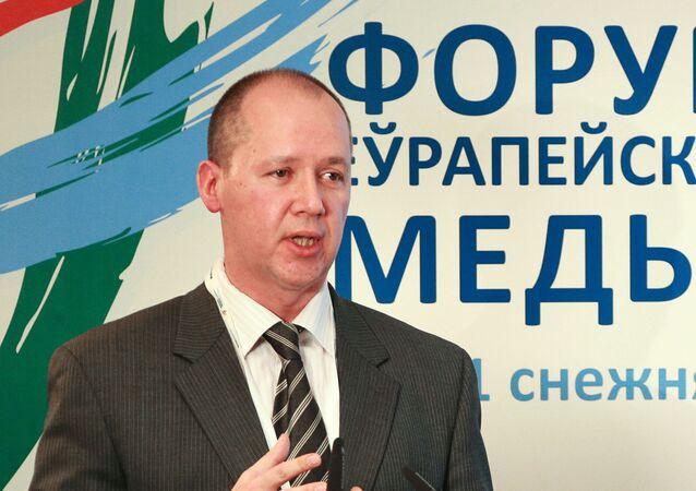 Valeri Tsepkalo, excandidato a la presidencia bielorrusa