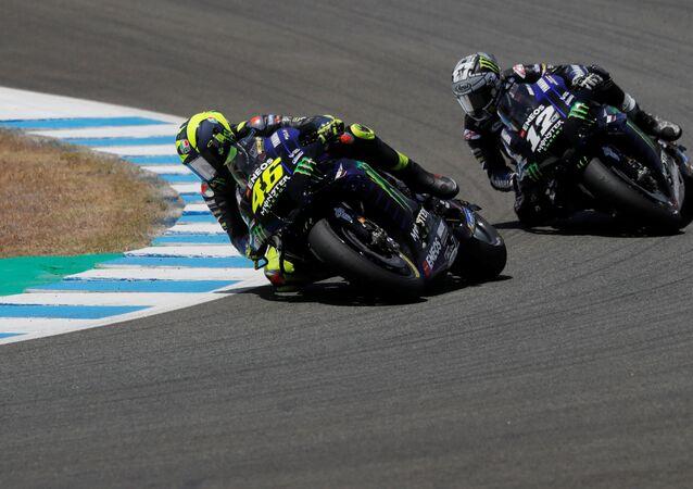 El Grande Premios de MotoGP de Andalucía (archivo)