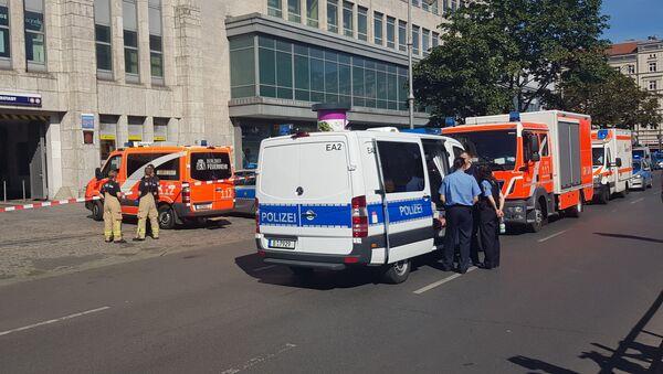 Lugar del ataque a un centro comercial en Berlín - Sputnik Mundo