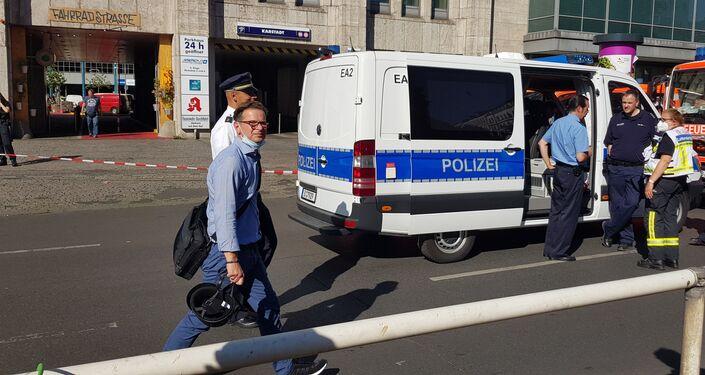Situación tras el ataque a un centro comercial en Berlín, Alemania