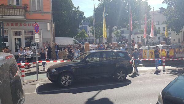 Situación tras el ataque a un centro comercial en Berlín, Alemania - Sputnik Mundo