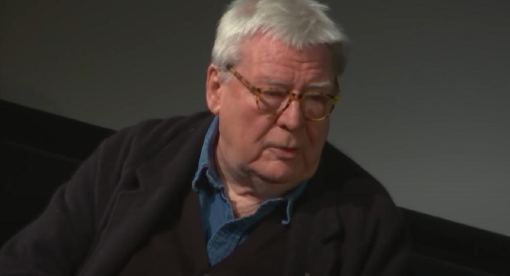 Alan Parker, director de cine británico