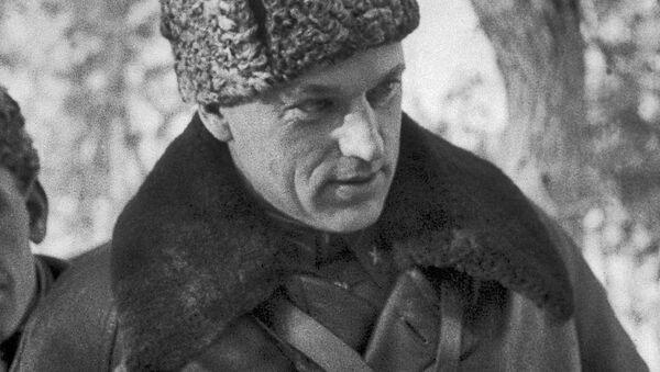 Konstantín Rokossovski, mariscal soviético - Sputnik Mundo