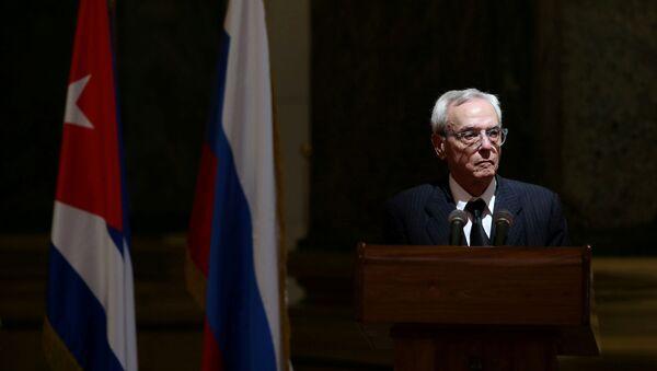 Eusebio Leal, director de la Oficina del Historiador de La Habana - Sputnik Mundo
