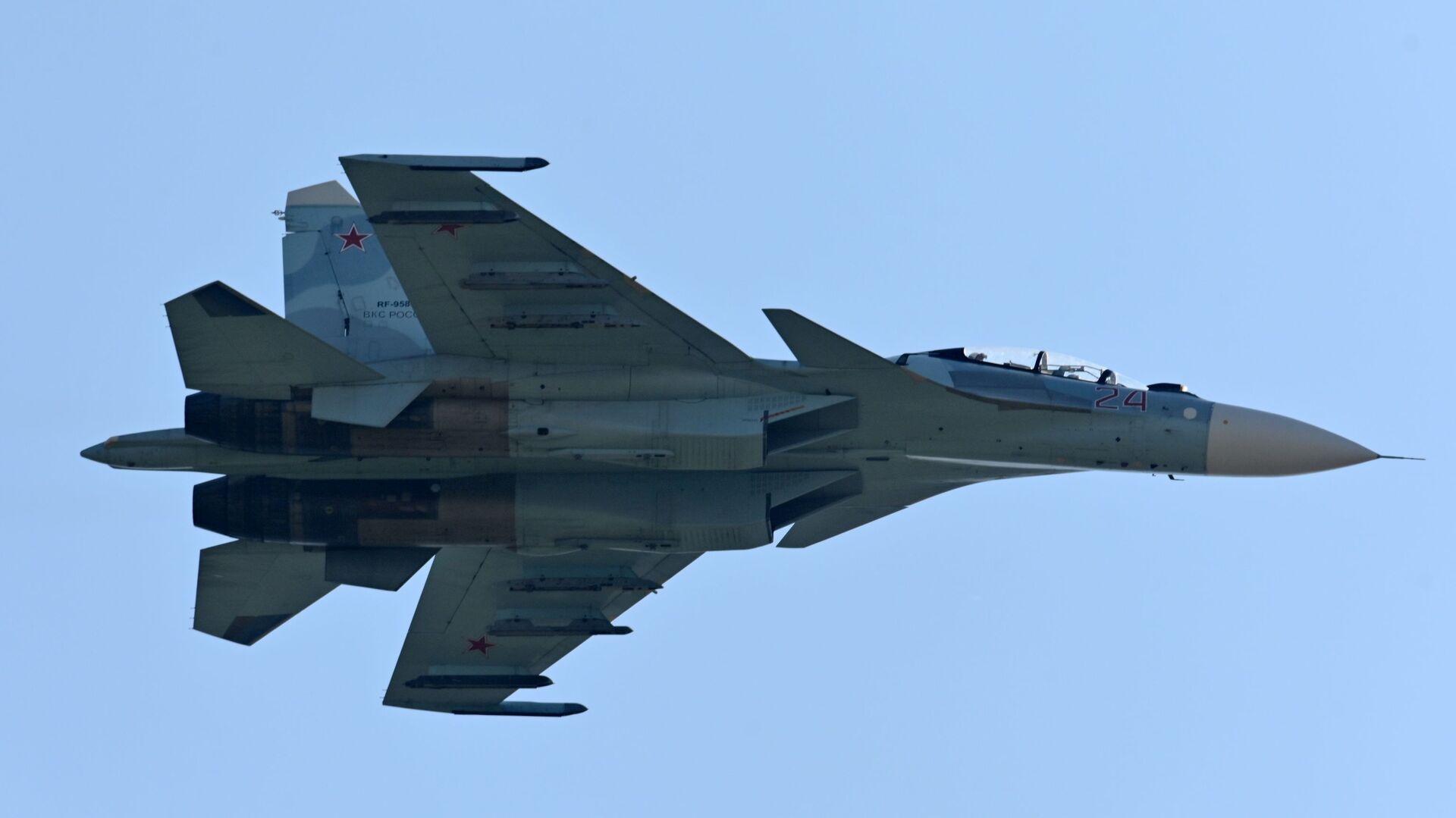 Un caza ruso Su-30SM  - Sputnik Mundo, 1920, 23.06.2021