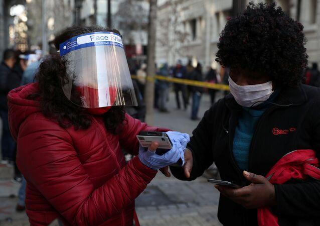El coronavirus en Chile