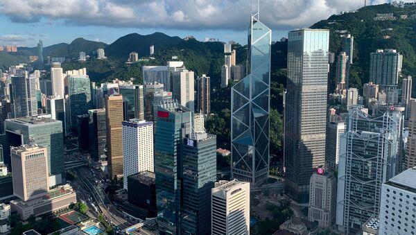 Vista general sobre el distrito central de Hong Kong - Sputnik Mundo