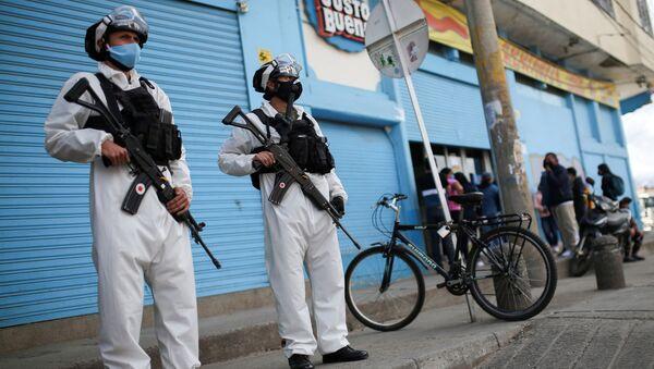 Agentes de la Policía militar de Colombia - Sputnik Mundo