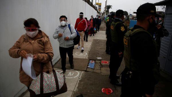 Coronavirus en Perú - Sputnik Mundo