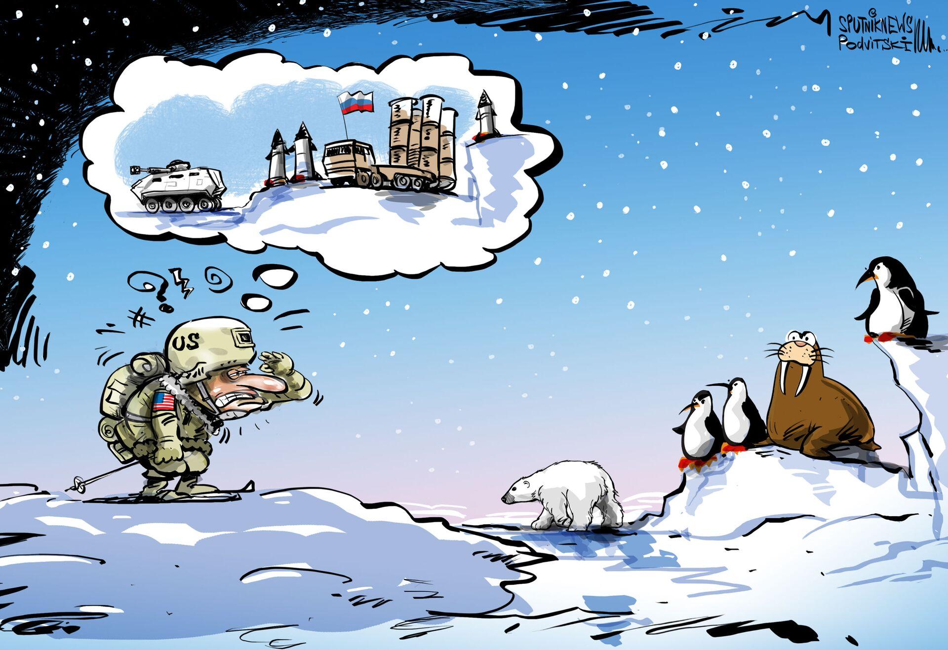 Kinzhal, el peligroso 'espejismo' de la OTAN en el Ártico - Sputnik Mundo, 1920, 11.02.2021
