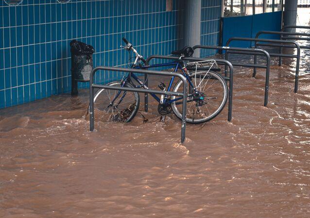Consecuencias de una inundación (iamgen referencial)