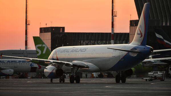 Un Airbus А321 de la compañía rusa Ural Airlines - Sputnik Mundo