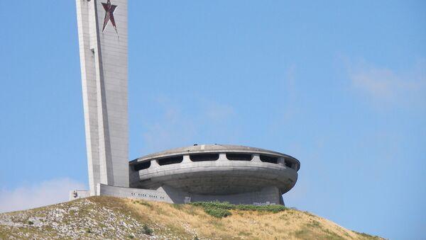 La Casa del Partido Comunista Búlgaro en el pico Buzludzha - Sputnik Mundo