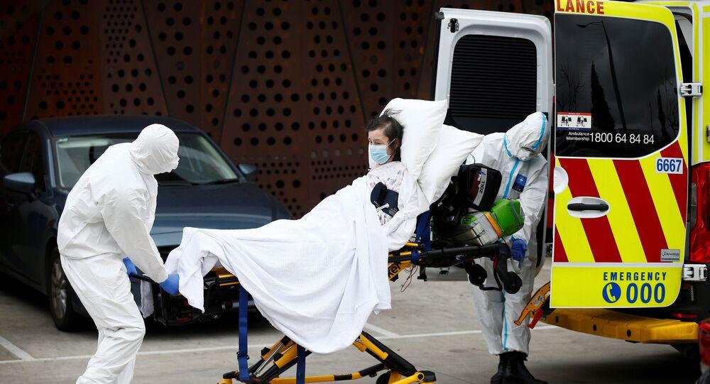 Rebrote de coronavirus en Melbourne
