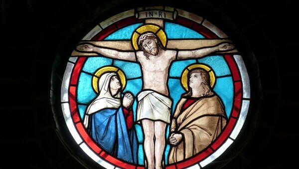 Imagen ventana Iglesia (imagen referencial) - Sputnik Mundo