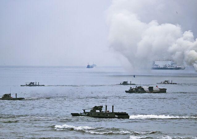 Las maniobras navales Escudo Oceánico 2020