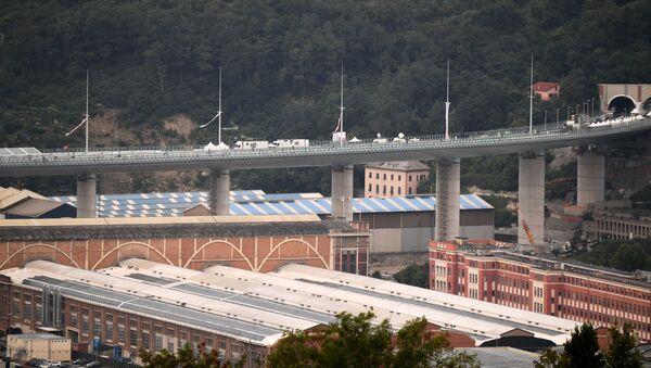 El puente de Génova San Giorgio, Italia - Sputnik Mundo