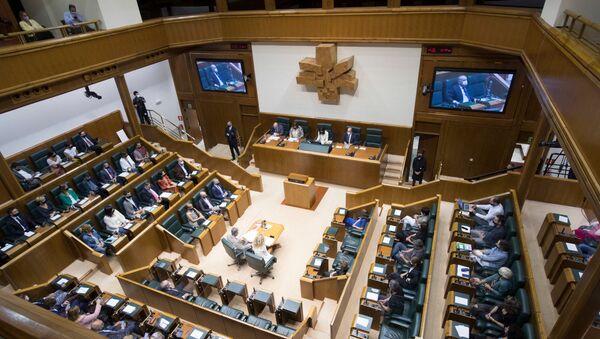 Sesión constitutiva del Parlamento Vasco - Sputnik Mundo