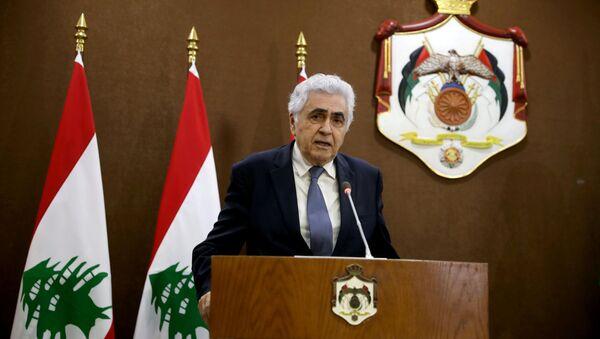 Nassif Hitti, canciller del Líbano - Sputnik Mundo