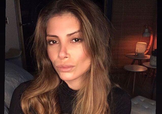 La modelo chilena Roxana Muñoz