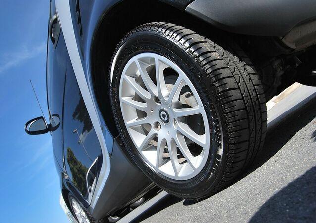El neumático de un automóvil (imagen referencial)