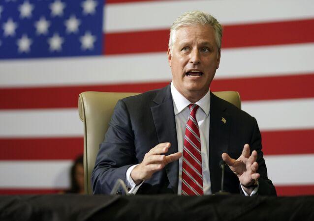 Robert O'Brien, asesor de seguridad nacional de la Casa Blanca