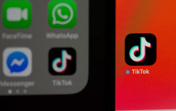 El logo de la aplicación TikTok