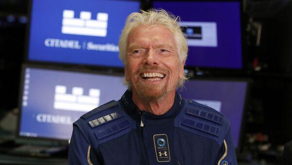 Multimillonario Richard Branson - Sputnik Mundo