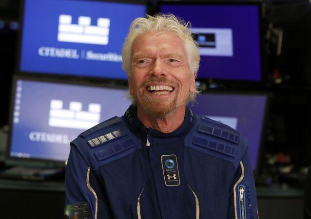 Multimillonario Richard Branson