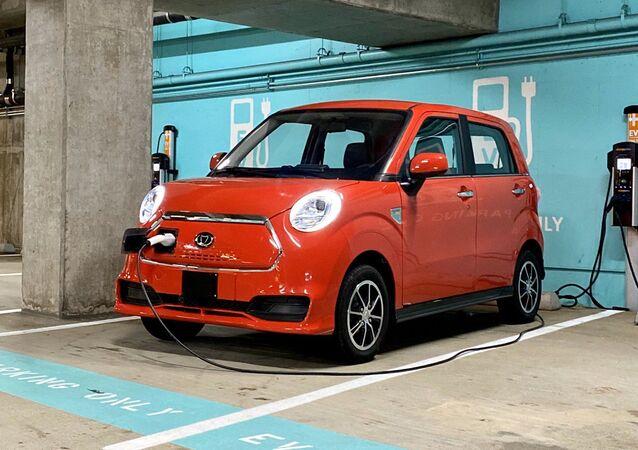 K27, vehículo eléctrico producido por la compañía china Kandi