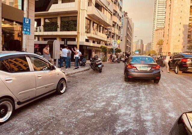 Las consecuencias de la explosión en Beirut