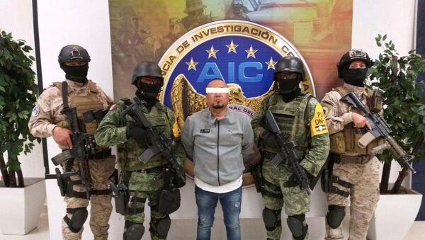 La detención de José Antonio Yépez Ortiz, 'El Marro' - Sputnik Mundo