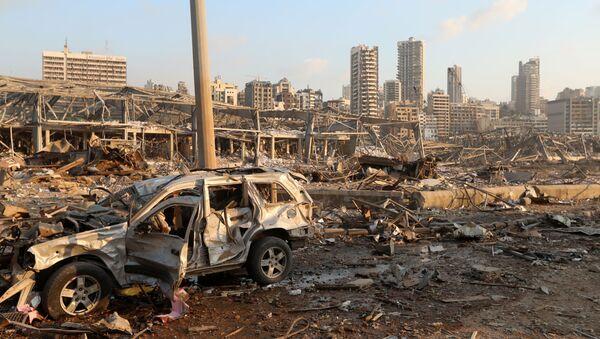 Explosión en el puerto de Beirut - Sputnik Mundo