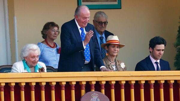 Rey emérito Juan Carlos I de España - Sputnik Mundo