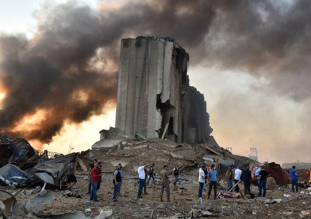 La explosión en el puerto que sacudió todo Beirut