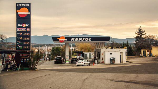 Gasolinera de Repsol - Sputnik Mundo