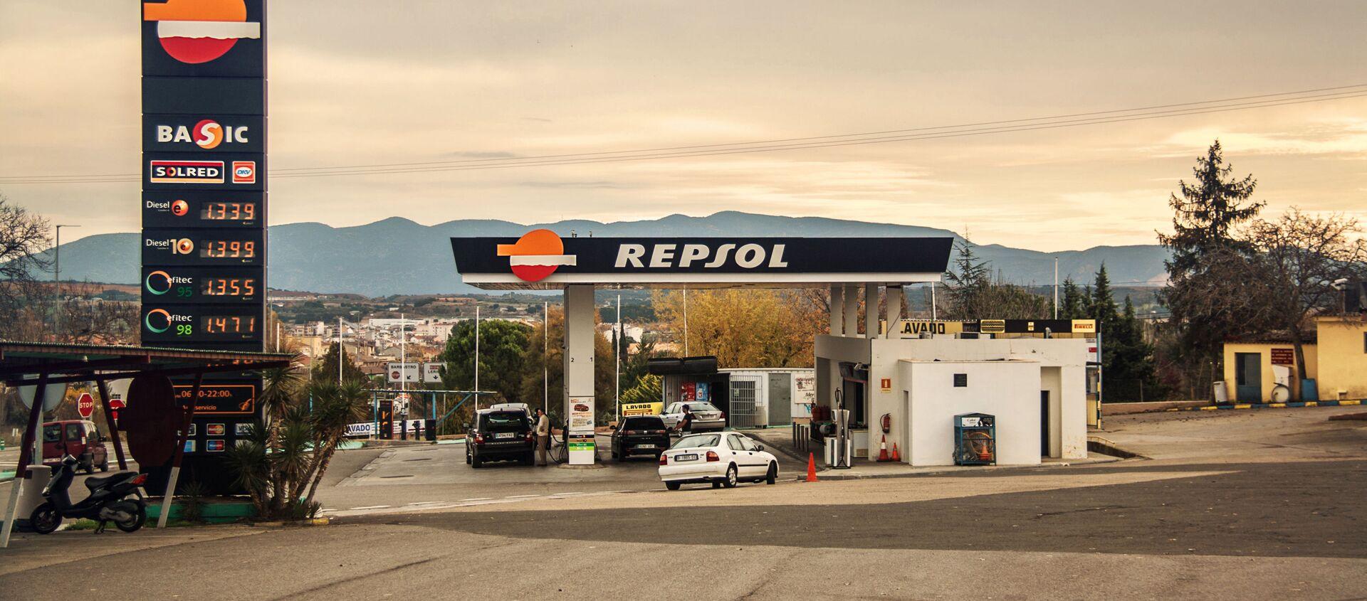 Gasolinera de Repsol - Sputnik Mundo, 1920, 05.08.2020