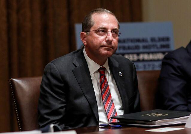 Alex Azar, secretario de Salud de EEUU