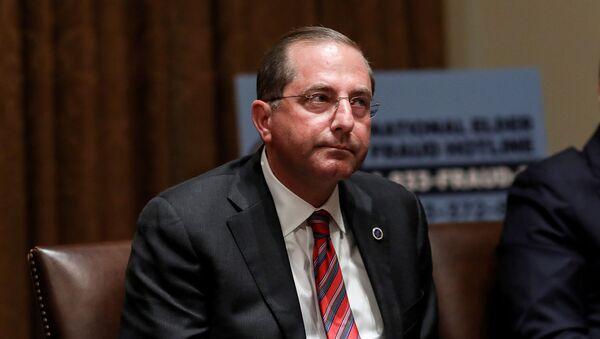 Alex Azar, secretario de Salud de EEUU - Sputnik Mundo