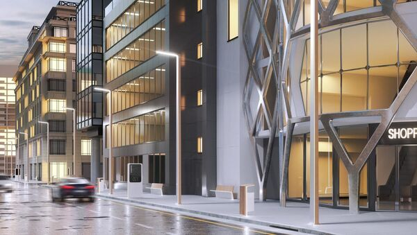 Dhemen diseñará el mobiliario de la ciudad del futuro de China - Sputnik Mundo