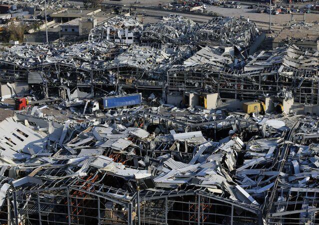 Consecuencias de las explosiones en el puerto de Beirut