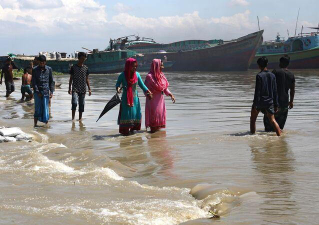 Un barco en Bangladés (archivo)