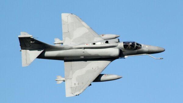 Un cazabombardero A4AR de la Fuerza Aérea Argentina - Sputnik Mundo