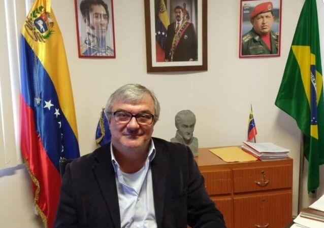El cónsul venezolano en la ciudad brasileña de Boa Vista