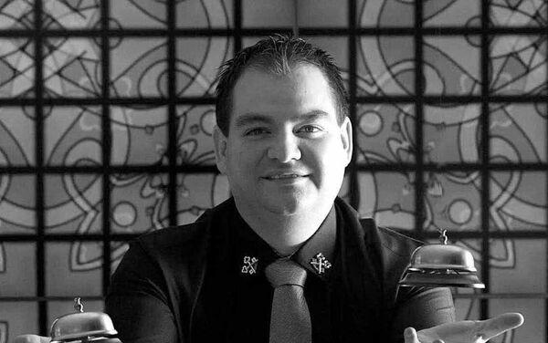 Gustavo López Aguado Montes, presidente de Asociación de Concierges de México - Sputnik Mundo