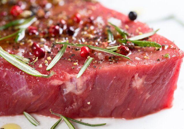 Carne cruda, imagen referencial