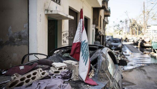 Consecuencias de la explosión en Beirut - Sputnik Mundo