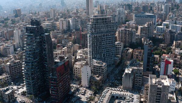 Los barrios destruidos por la explosión en Beirut - Sputnik Mundo