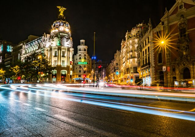 Confluencia c/Alcalá con Gran Vía, Madrid